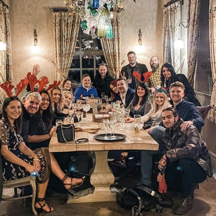 hdy team photo christmas