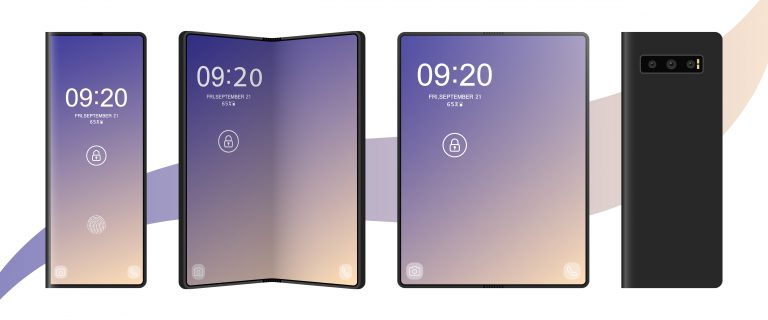 HDY explores a world with folding phones