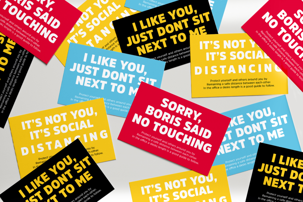 Signage campaign
