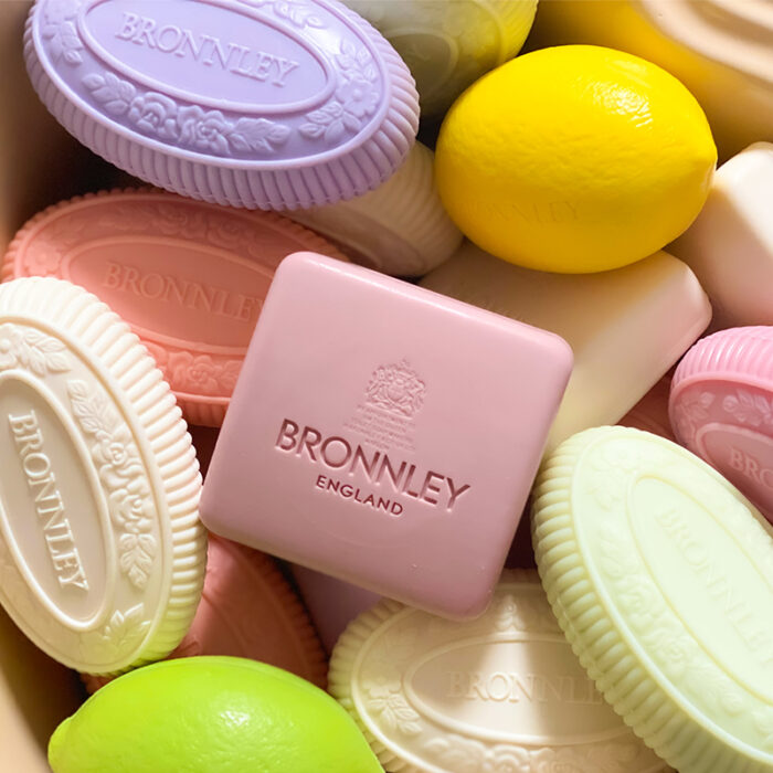 selection of Bronnley soaps