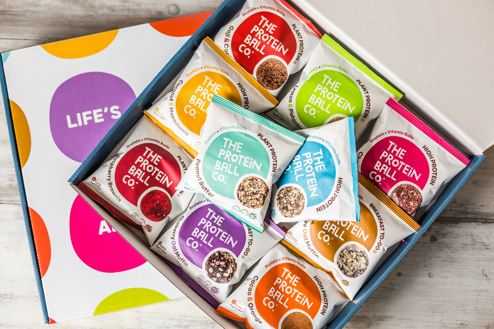 HDY Protein Ball co